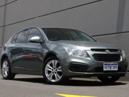 2015 Holden Cruze JH Series II MY16 Equipe Grey 6 Speed Sports Automatic Hatchback Maddington Gosnells Area Preview
