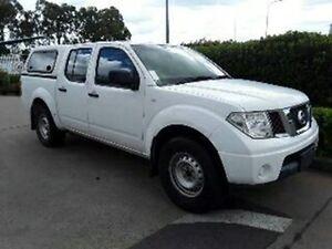 2011 Nissan Navara D40 MY11 RX White 5 Speed Automatic Utility Acacia Ridge Brisbane South West Preview