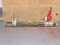 Bridges pedestal drill & accesories