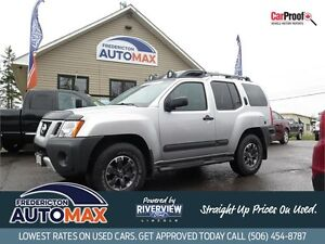 2014 Nissan Xterra PRO-4X! Leather! Nav! $115 Weekly Tax Inc.