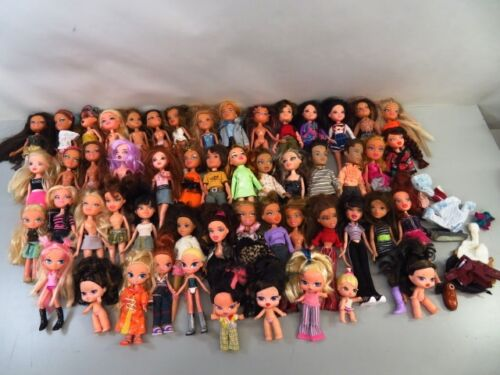 15 Lb Bulk Lot of Loose, Assorted MGA Bratz Dolls, Accessories, Shoes - LOT