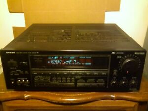 1990's Onkyo R1 AV Amplifier Receiver w Phono Input