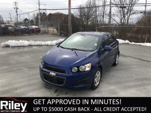 2014 Chevrolet Sonic LT STARTING AT $98.34 BI-WEEKLY