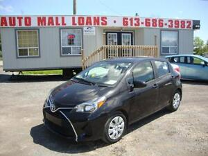 2015 Toyota Yaris LE ***PAY ONLY $46 WEEKLY OAC*** 2 IN STOCK!