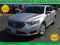 2013 Ford Taurus SEL FWD, $56/Weekly, NO PAYMENTS UNTIL 2016