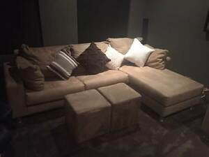 Quick sale! 3 Seater with chaise and matching 2 seater sofa set Beeliar Cockburn Area Preview