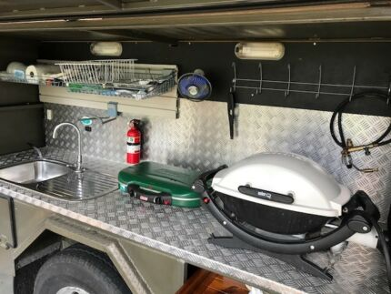 One of a Kind- Precision/Craftsman built 4WD Camper Trailer