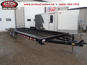 TINY HOME TRAILER IN STOCK 24' LONG - 7 TON - READY TO GO