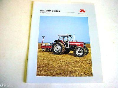 Massey Ferguson 300 Series Farm Tractor 16 Pages1998 Brochure  M