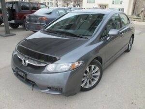 2010 Honda CIVIC XLE SUNROOF leather heated seats only $8900