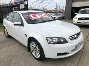 2008 Holden Commodore VE MY09.5 Omega (D/Fuel) 60th Ann White 4 Speed Automatic Sedan