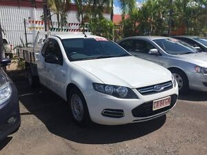 2013 Ford Falcon FG 1 TONNE  White 5 Speed Auto Active Select Utility Hidden Valley Darwin City Preview