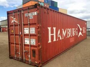 40' Cargo Worthy Shipping Containers- MURRAY BRIDGE $2450 + GST Murray Bridge Murray Bridge Area Preview