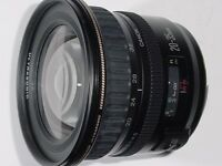 like new canon EF 20 35 USM ultra wide angle zoom lens