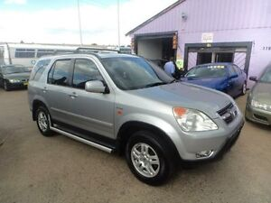 2002 Honda CR-V MY03 (4x4) Sport Silver 5 Speed Manual Wagon North St Marys Penrith Area Preview