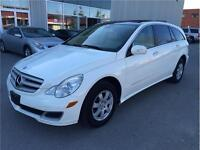 2007 MERCEDES-BENZ R350 4MATIC/NAVI/DVD/PANORAMIC ROOF/WHITE