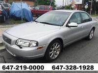 2002 Volvo S80 T6 Automatic Leather Sunroof All Power LIKE NEW