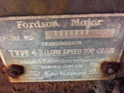 Vintage Fordson