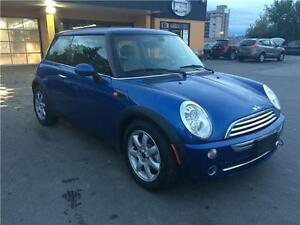 2006 Mini Cooper,manual, sunroof, alloy, cert./warranty avail.