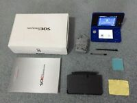Like New_Blue 3DS_W/ Lots of Games & Accessorries