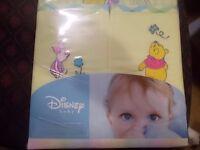 NEW - Winnie the Pooh Disney Curtains+Tie Back