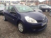 2007 RENAULT CLIO 1.5 dCi 86 Expression DIESEL 30.00 PER YEAR ROAD TAX