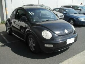 2002 Volkswagen Beetle 9C 2.0 Black 5 Speed Manual Hatchback Moorabbin Kingston Area Preview