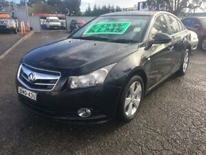 2010 Holden Cruze JG CDX Black 6 Speed Automatic Sedan Lansvale Liverpool Area Preview