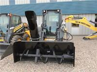 "2015 MK MARTIN 76"" HYDRAULIC DRIVE SNOW BLOWER FOR SKID STEER"