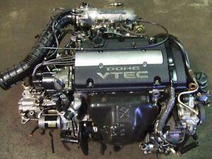 JDM HONDA H22A OBD1 1992-1995 VTEC ENGINE MT TRANSMISSION ECU