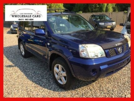 2006 Nissan X-Trail T30 II ST-S Blue Manual Wagon