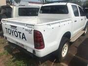 2006 Toyota Hilux White 5 Speed Manual Dual Cab Winnellie Darwin City Preview