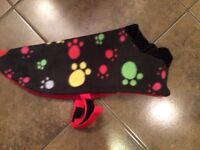 NEW - Dog coat for small dog. Great Christmas gift