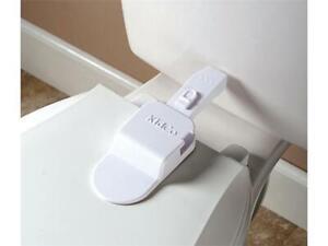 Loquet adhésif pour toilette