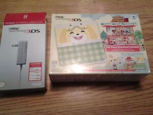 ECHANGE NEW 3DS EDITION SPECIAL ANIMAL CROSSING carte sd 32gb