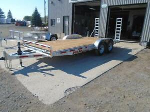 PROFESSIONAL SERIES 7X18 GALVANIZED EQUIPMENT TRAILER N&N London Ontario image 5