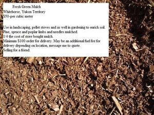 Firewood, 3 choices / Mulch