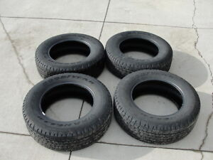 Set of 4-Goodyear Wrangler SR-A Tires (Almost new!) P265/65R18