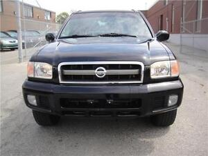 2002 NISSAN PATHFINDER,LE MODEL,4X4,VERY CLEAN,LEATHER