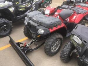 2013 Polaris Sportsman 550 with Winch and Blade Package
