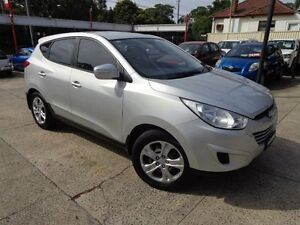 2011 Hyundai ix35 LM MY11 Active (FWD) Silver 5 Speed Manual Wagon Sylvania Sutherland Area Preview