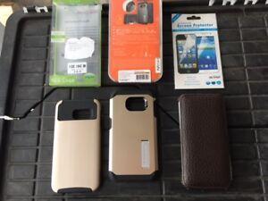 3 Étuis de cell. pour Samsung Galaxy S6 Edge
