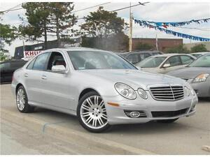 2007 Mercedes-Benz E-Class 4Matic BROWN LEATHER!