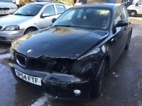 2004 BMW 1 Series 6 Speed Diesel, starts and drives, unrecorded damage, 93,000 miles, MOT until Jan