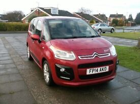 2014 CITROEN PICASSO 1.6 VTR+ HDI RED 12 MONTH M.O.T. FULL DEALER HISTORY