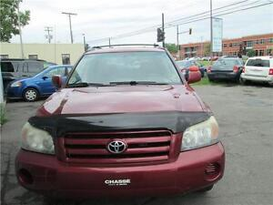 toyota highlander 2004  4x4 7seats,leather full load warranty