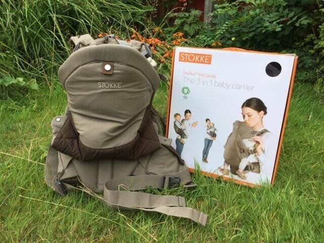 *** Stokke® MyCarrier - EXCELLENT CONDITIOIN - brown ***