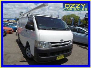 2007 Toyota Hiace TRH201R MY07 LWB White 5 Speed Manual Van Penrith Penrith Area Preview
