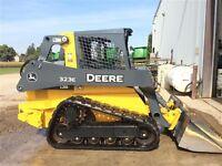 2014 John Deere 323E Skid Steer