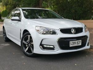 2017 Holden Commodore VF II MY17 SV6 White 6 Speed Sports Automatic Sedan Prospect Prospect Area Preview